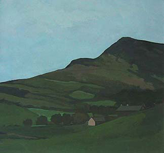 "Near Grasmere, UK (8.75"" x 9.5"") Gouache 1999 - 2000"