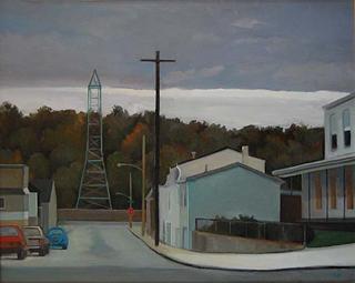 Last Light oil (16″ x 20″) oil on canvas 1997