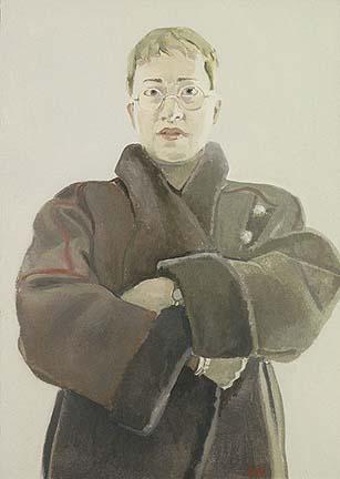 "Nancy (16"" x 12"") oil on canvas 1996"