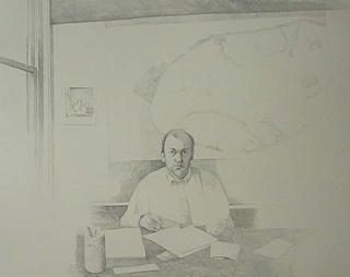 Architect (32″ x 40″) graphite 2006