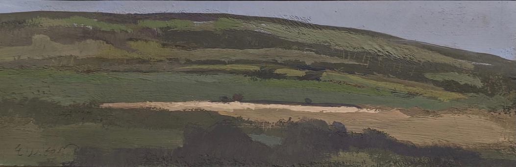 "Arc, County Kerry, Ireland, (1 3/4"" x 5 3/8""), Gouache, 2009"